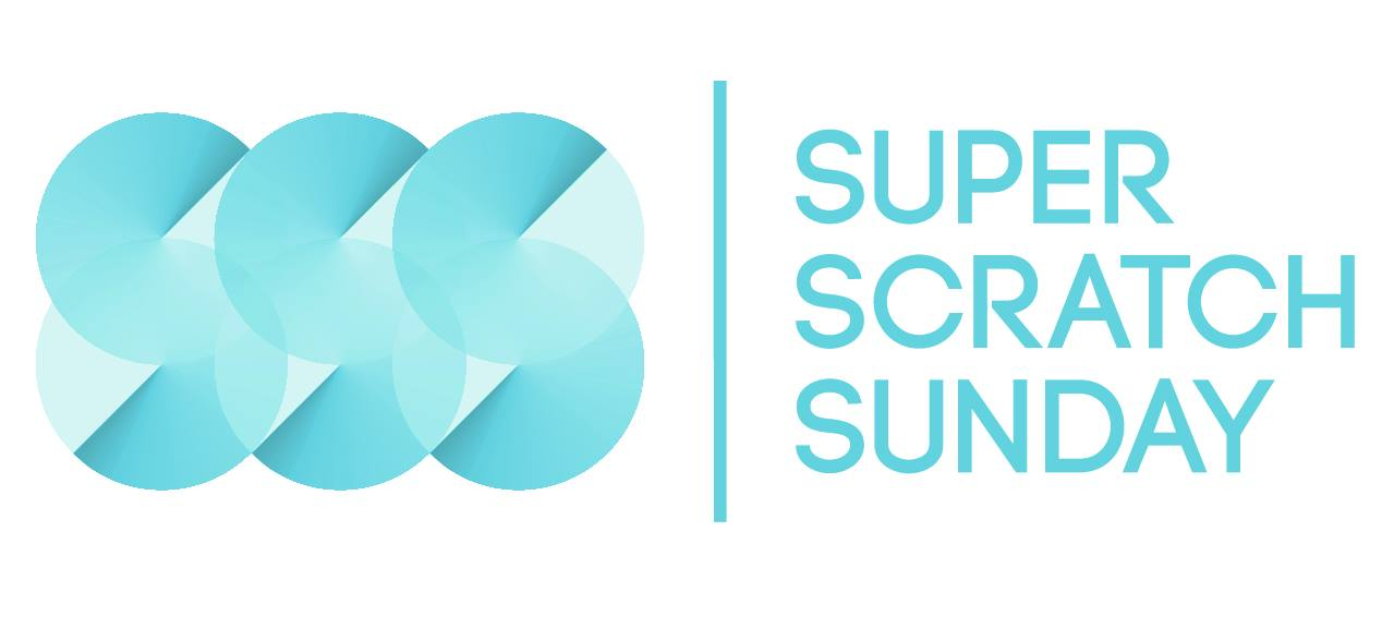 super scratch sunday logo